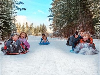 Best Places to Sled in Calaveras' High Sierra