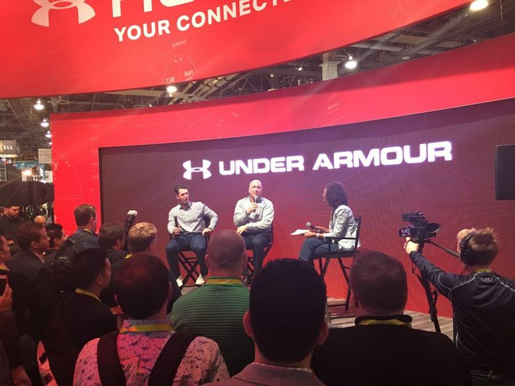 Image 1 for Under Armour Connected Fitness at CES 2016