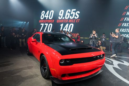 Image 4 for Dodge Demon Breaks Free at New York Auto Show