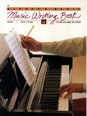 12 Stave Music Writing Book (9 x 12)