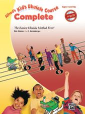 Alfred's Kid's Ukulele Course Complete (Book & Online Audio)
