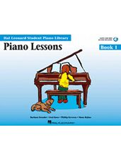 Hal Leonard: Piano Lessons Book 1 - Book/CD Pack