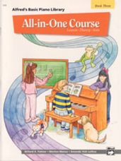 Alfred's All In One Lesson-Theory-Solo Book 3