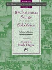 10 Christmas Songs for Solo Voice - Book only
