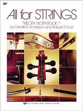 All For Strings Theory Workbook 1-Violin