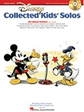 Disney Collected Kids' Solos (Book & Online Audio)