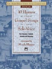 10 Hymns & Gospel Songs for Solo Voice (Med Low CD Only)