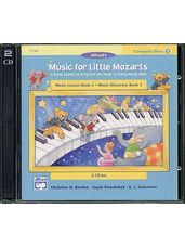 CD 2-Disk Sets for Lesson and Discovery Books, Level 3 Music for Little Mozarts