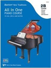 All In One Piano Course 2B (Lessons, Theory, Technic, Performance)