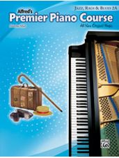 Alfred's Premier Piano Course: Jazz, Rags & Blues Book 2A