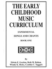 Experimental Songs and Chants Book 1