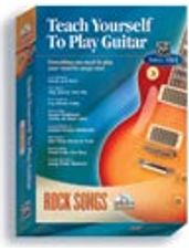 Alfred's Teach Yourself to Play Guitar: Rock Songs (CD Rom Boxed Edition)
