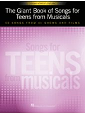 Giant Book of Songs for Teens from Musicals, The - Young Women's Edition