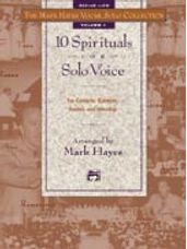 10 Spirituals for Solo Voice (Accomp CD for Med Low)