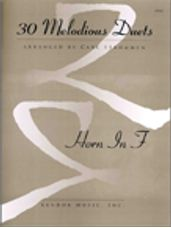 30 Melodious Duets (Horn In F)