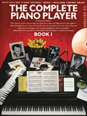 Complete Piano Player - Book 1  (book/cd)