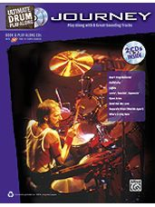 Ultimate Drum Play-Along: Journey [Drum Set BK/CD]