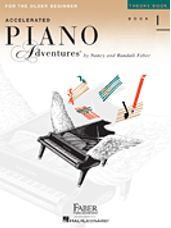 Accelerated Piano Adventures for the Older Beg Theory 1