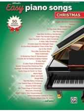 Alfred's Easy Piano Songs: Christmas [Piano/Vocal/Guitar]
