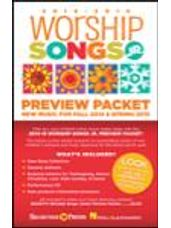 2014-15 Worship Songs Junior Preview Packet