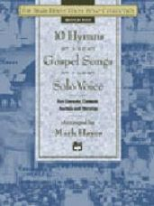10 Hymns & Gospel Songs for Solo Voice (Book and CD)
