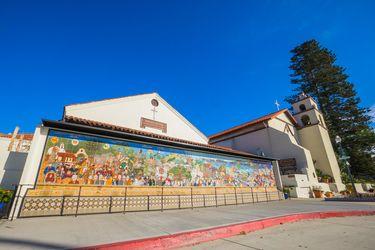 San Buenaventura Mission Mural