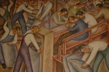 Post Office Murals
